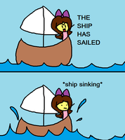 The Ship Is Sailing by RachelCop