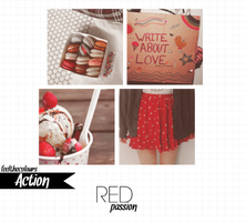 Red passion (original action) by feelthecolours
