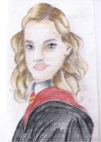 Hermione Granger  Half Blood Prince Drawing! by Natalia-Enchantix
