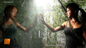 Lara Croft Reflections: classic reflection by doppeL-zgz