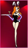 Jessica Rabbit does Playboy by PurrpleCatt