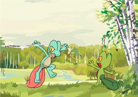 Treecko Tree by FraankBiebs