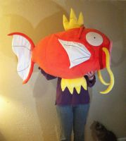 Life-Size Magikarp Plush by Jellystitch