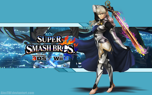 Corrin (F) Wallpaper - Super Smash Bros. Wii U/3DS by AlexTHF