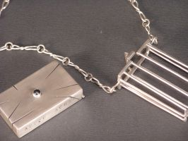 Caged Necklace by Zaxmon