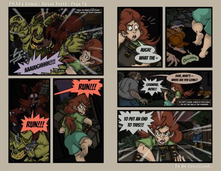 FNAF4 Comic - House Party - Page 73 - 6-15-17 by Mattartist25