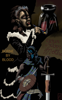 Sajai: Borne by Blood Cover by Captroop