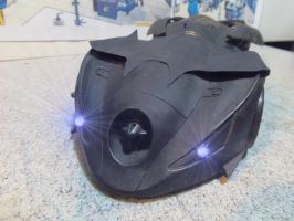 Old Batman Animated Custom Batmobile Front by skphile