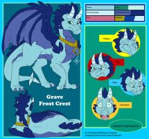 Commish - Grave Frost Crest Ref by shaloneSK