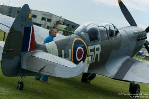 Twin Seat Supermarine Spitfire by TPJerematic