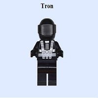 Tron lego minifigure by Lucdoesfanart