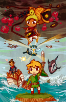 Legend of Zelda: Phantom Hourglass by tellielz