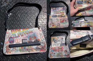 Doodle Bag Back To The Future by whyamitheconvict