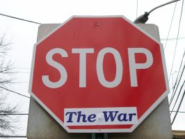 """Stop  """"The War"""" by MP-R"""