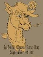 National Alpaca Farm Day by belligerent