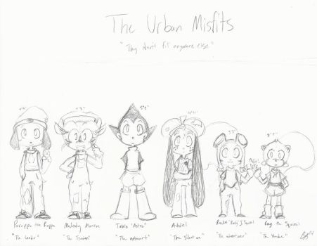 Urban Misfits Character Sheet by Little-Shy-Mouse