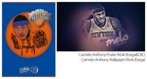 Carmelo Anthony Work's by EsegaGraphic