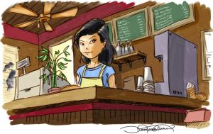 boba cafe by dchan316