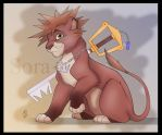 Sora the Lion Cub by RexKing