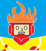 Firestorm, the Nuclear Man by Derfs-Domain