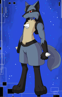 Lucario, My Style by Kivwolf
