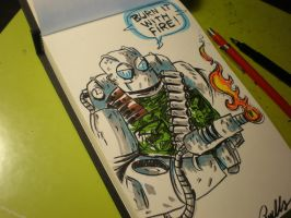 Atomic Robo by Cosmic-Rocket-Man