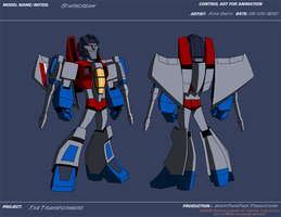 AP Starscream by KrisSmithDW