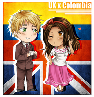 .:PC:. UK x Colombia by kamillyanna