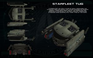 Starfleet Tug ortho by unusualsuspex