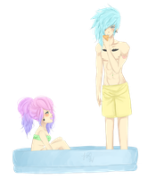Silvie And Kaden -  Summer Time by Darth-Crumb
