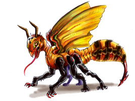 Waspdragon ADOPTABLE! OPEN AUCTION by king-ghidorah