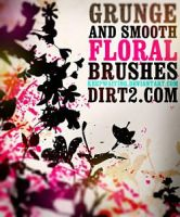 Floral Photoshop Brushes by blitherjust