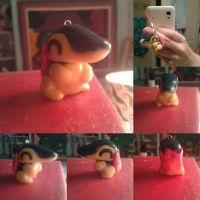 Cyndaquil charm by moogal111