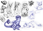 Sketches by AidenMonster