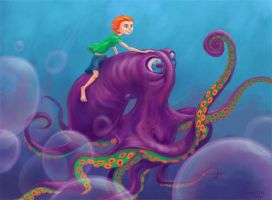Octopus Boy by Ditchmaster
