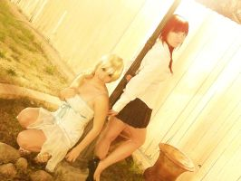 Namine and Kairi by HACKproductions