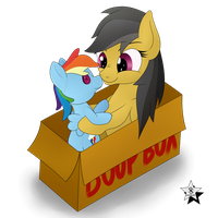 Daring Do and the Boop Box by Wodahseht