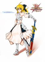 Saber Lily by nz13590
