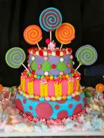 Kenzies Candy Cake by Pixie-Lyrique
