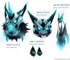 Family of ice demons by Zhoid