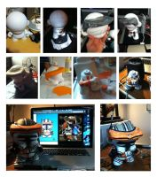 Commander Cody Munny Steps by shamazindustries