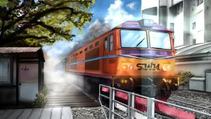 Thai Train by Anomonny