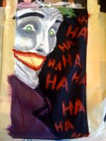 Painting Joker's On My Bag by SuperheroObsessed
