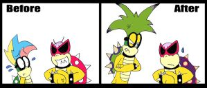 Iggy's Growth Spurt by TheGuyNoOneRemembers