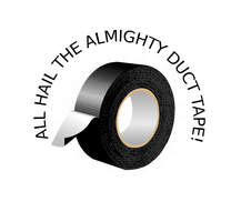 All hail the almighty duct tape by difu0an