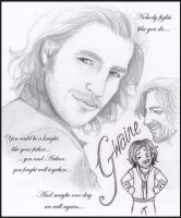 Gwaine - Eoin Macken by blackbirdrose
