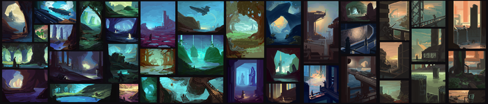 Environment Thumbnails by F87w