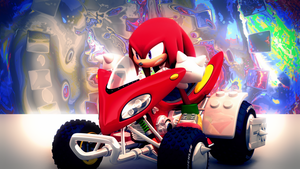 Knuckles the Echidna [51] by Light-Rock