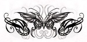 Butterfly Moth by sixstringlass