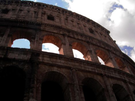 Colosseum by froggy-hicks